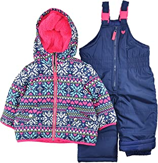425656a23dc22 Carter s Girls  Infant 2 Pc Heavyweight Printed Snowsuit
