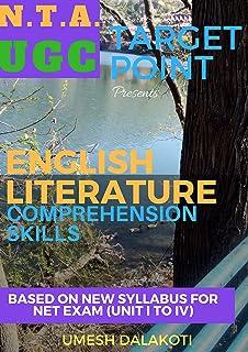 TARGET POINT: ENGLISH LITERATURE COMPREHENSION SKILLS: NET/SET/JRF (English Edition)