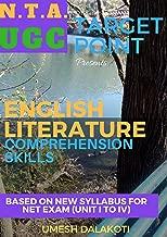 TARGET POINT: ENGLISH LITERATURE COMPREHENSION SKILLS: NET/SET/JRF