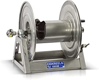 3 Conductors Coxreels 1125PCL-8M-EA Electric 115V Explosion Proof 1//2HP Motor Rewind Hose Reel: 12 AWG 45 AMPS 600V less cord 250 cord capacity