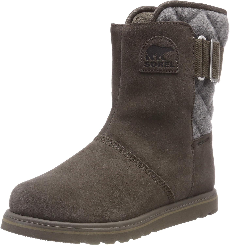 Sorel Womens Rylee Suede Knitted Snow Outdoor Waterproof Winter Boots - Major