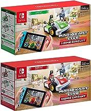 Nintendo Switch - Mario Kart ao vivo: Início Circuit - Mario Set e Luigi Set Edition - Christmas Holiday Bundle para Mudar...