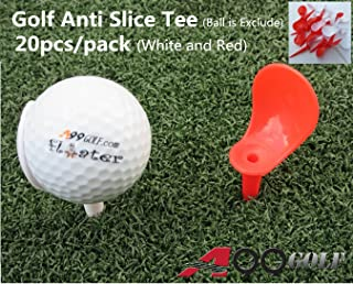"A99 Golf Anti-Slice Tee 3 1/4"" (83mm) Length 20pcs"