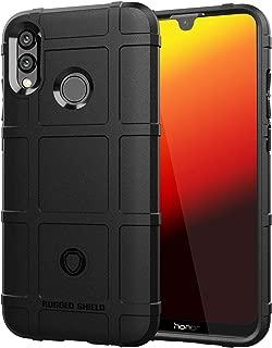 YEZHU Huawei P Smart 2019 / Huawei Nova Lite 3 ケース 良い 耐衝撃カバー 保護シェル 衝撃吸収バンパー アンチスクラッチ ソフトケース (ブラック)