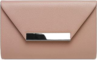 Caspar TA419 Damen XL Clutch Tasche Abendtasche