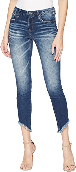 Ankle Skinny Jeans in Medium Dark