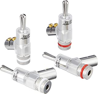 FURUTECH ADL high-end grade banana plug rhodium plating process four one set FP202R