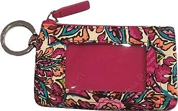 Vera Bradley Women's Zip ID Case (Sunburst Floral)