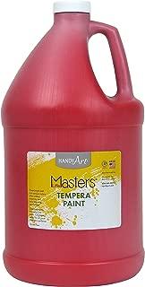 Handy Art Little Masters Tempera Paint Gallon, Red