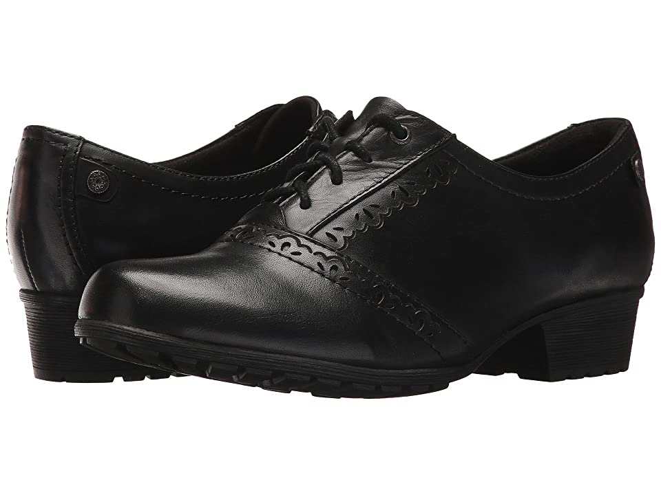 1930s Style Shoes – Art Deco Shoes Rockport Cobb Hill Collection Cobb Hill Gratasha Oxford Black Leather Womens Shoes $119.95 AT vintagedancer.com