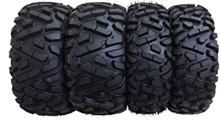 Set of 4 New Radial ATV/UTV Tires 26x9R12 Front & 26x11R12 Rear /6PR P350-10179/180 …