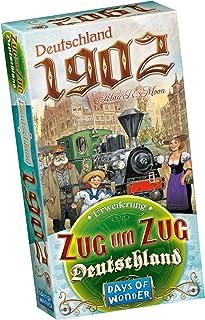 Asmodee tåg för tåg: Tyskland – Tyskland 1902, utvidgning, familjespel, tyska