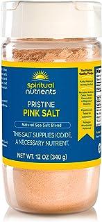Sponsored Ad - Spiritual Nutrients Pristine Pink Salt | Untreated, Solar-Dried Sea Salt Delivering Critical Trace Minerals...