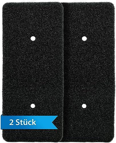 Lot de 2 filtres en mousse de rechange pour Samsung DC62-00376A - 225 x 100 mm