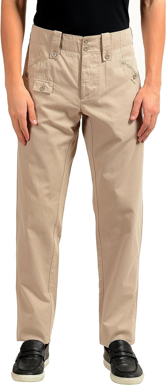 Dolce & Gabbana Men's Beige Casual Pants US 28 IT 44