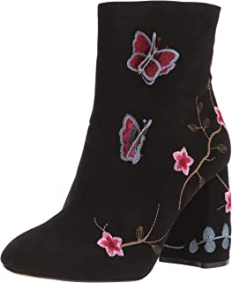 Womens Lilly Suede Ankle Boots
