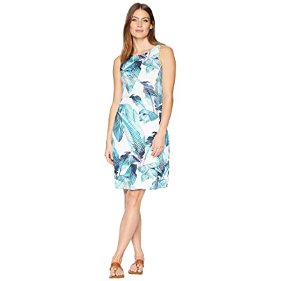 Tommy Bahama Fiesta Palms Sheath Dress (Aqua Aloha) Women