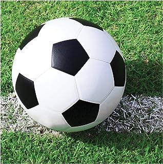 مناديل شراب بتصميم مشجعي كرة القدم من كرييتيف كونفيرتينج، طقم من 18 قطعة، مقاس 5 انش، الوان متعددة