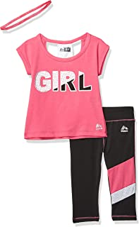 RBX Girls' 2 Pc Set Active Top/Capri