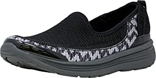 Bzees Women's ath Leisure Casual Comfort Shoe Signature
