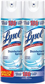 Lysol Disinfectant Spray, Crisp Linen