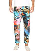 Tie-Dye Palm Print Pants