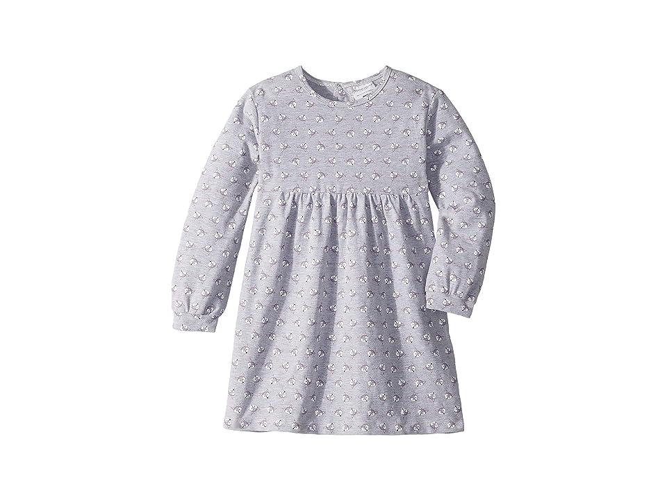 Toobydoo Empire Waist Dress (Toddler/Little Kids/Big Kids) (Purple Fox) Girl