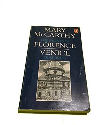 The Stones of Florence Travel Library ,Mary McCarthy