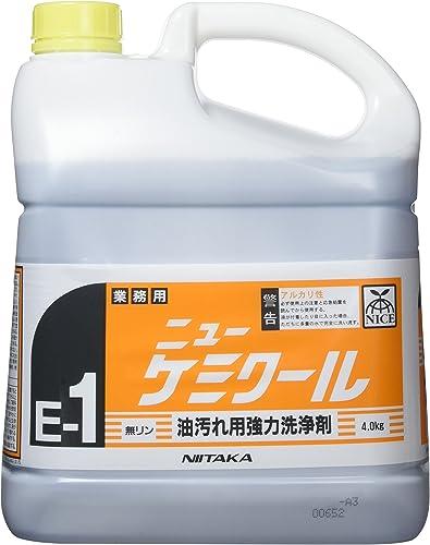 ニイタカ ニューケミクール 業務用 油汚れ用 強力洗浄剤 4kg