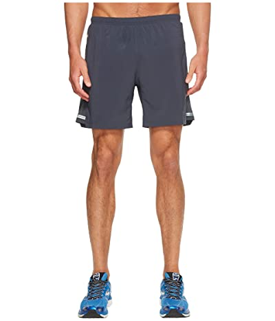 Brooks Sherpa 7 2-in-1 Shorts (Asphalt) Men
