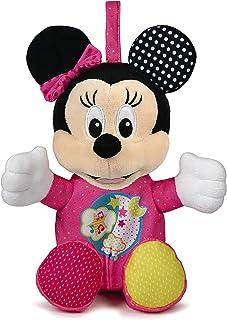 Clementoni Disney Baby Minnie Interactive Plush Toy, Multi-Colour, 28 x 17 x 11 cm