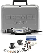 Dremel 3000-2/28 Variable Speed Rotary Tool Kit- 2 Attachments & 28 Accessories- Grinder, Sander, Polisher, Router, and Engraver- Perfect for Routing, Metal Cutting, Wood Carving, and Polishing