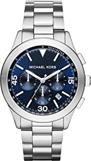 Men's Gareth Silver-Tone Watch MK8451
