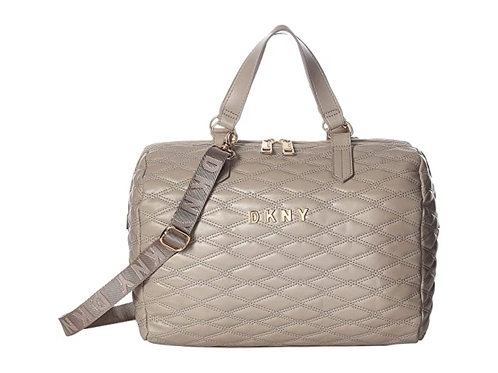 DKNY Quilted Barrel Duffel Small