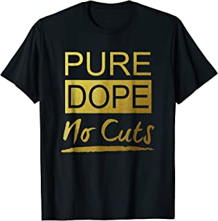 Pure Gold T-Shirt Sneaker Heads Basketball shoes fresh