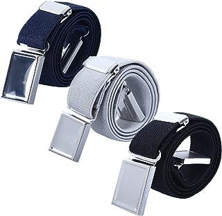 Kids Magnetic Belts for Boys - 3 Pcs Adjustable Elastic Toddler Belt