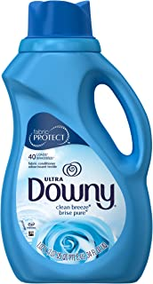 Downy Clean Breeze Liquid Fabric Conditioner (Fabric Softener), 34 FL OZ