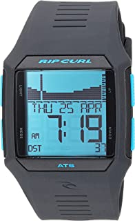 Rip Curl Men's Quartz Sport Watch with Polyurethane Strap, Blue, 30.2 (Model: A1119BLT1SZ)
