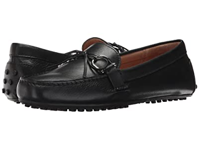 LAUREN Ralph Lauren Briley Moccasin Loafer (Black Super Soft Leather) Women