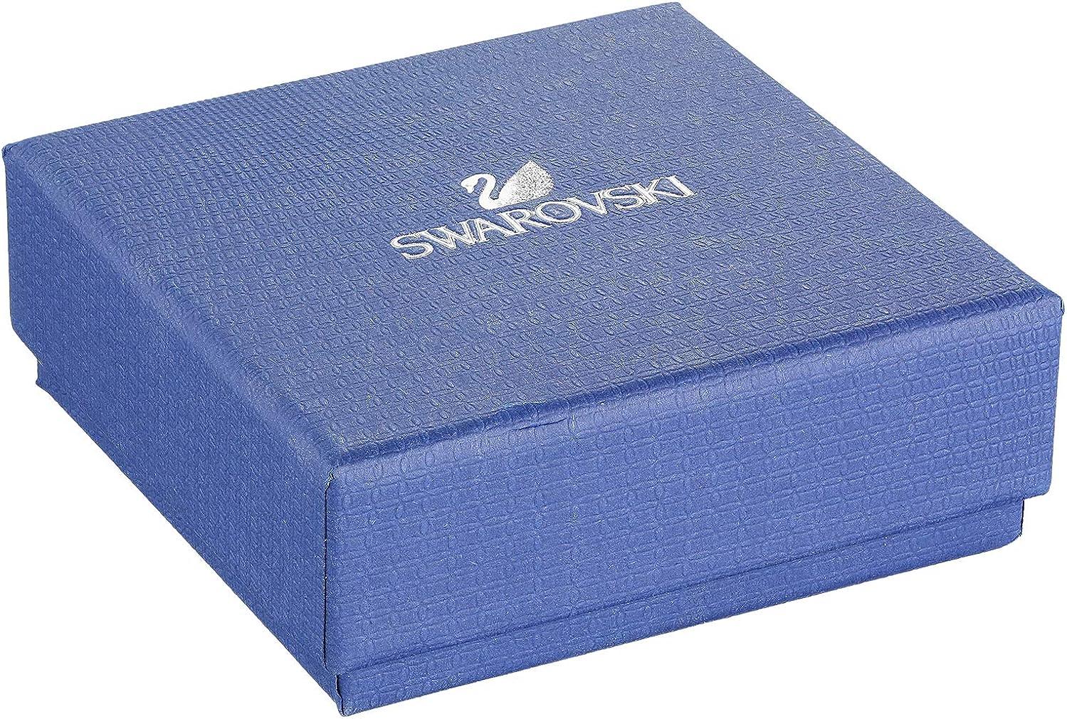 Swarovski Crystal Angelic Stud Earrings, Gold-Tone
