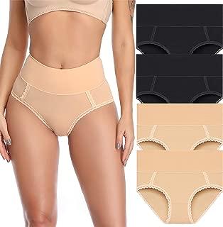 Womens Cotton Underwear High Waist Postpartum Care Panties Soft Breathable Briefs for Ladies