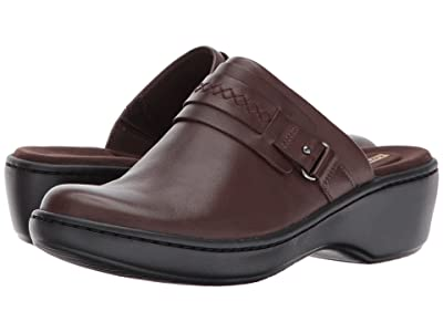 Clarks Delana Amber (Dark Brown Leather) Women