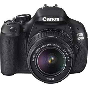 Canon EOS 600D - Cámara réflex Digital de 18 MP (Pantalla ...