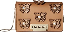 ZAC Zac Posen - Earthette Accordion Crossbody - Butterfly Applique