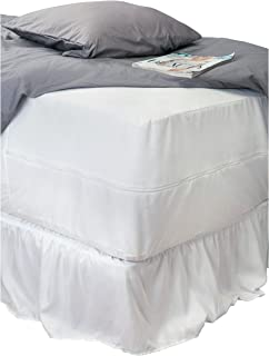Home Details Mattress Protector, Full, White