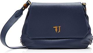 Trussardi Jeans Lavanda Shoulder Bag, Borsa a tracolla Donna, 28x20x9 cm (W x H x L)