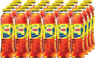 Lipton Ice Tea Lemon Flavour Non-Carbonated Refreshing Drink, 24 X 275 ml - Pack of 1