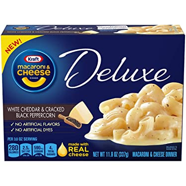 Kraft Deluxe Cracked Black Peppercorn Macaroni and Cheese Meal (12 oz Box)