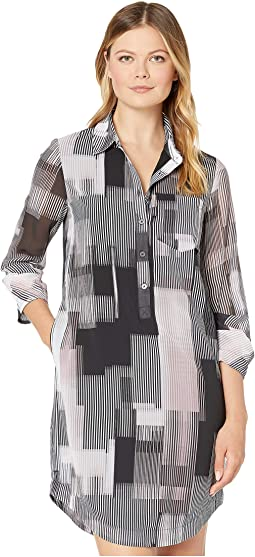 Digital Stripe Blush