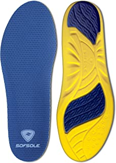 Sof Sole Insoles Men's Athlete Performance Full-Length Gel Shoe Insert.